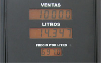 Arenal, Costa Rica gas price