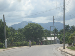 Driving to Vinales