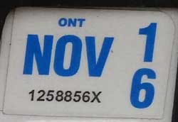 Ontario raising sticker cost